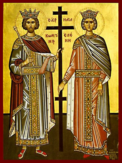 Shën  Kostandini dhe Shën Elena