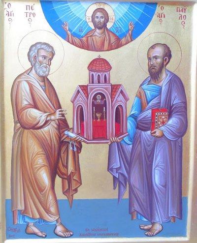 Apostujt e Shenjtë Pjetri dhe Pavli