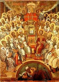 Etërit e Sinodit I Ekumenik