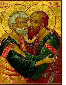 APOSTULL PETRO DHE PAVLI