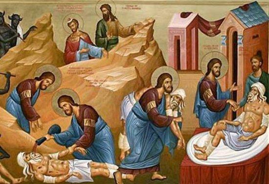 E Diela VIII e Lukait dhe Shën Joan Gojarti