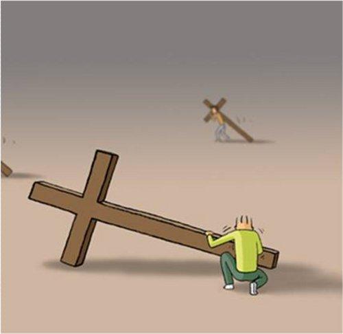 Çdo njeri ngre kryqin e tij