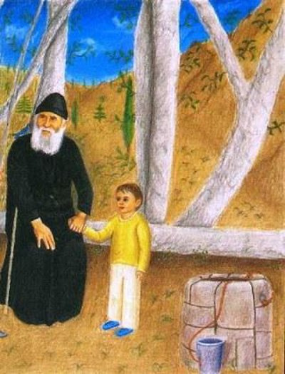 Shën Paisio-Edukata e fëmijëve