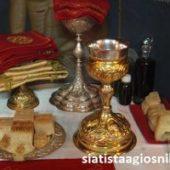 Përgjigje e Shën Grigor Teologut rreth çeshtjes së Proskomedhisë së Shenjtë, e cila u sjell dob